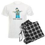 Time Hoodie Men's Light Pajamas
