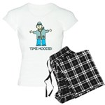 Time Hoodie Women's Light Pajamas