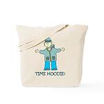 Time Hoodie Tote Bag