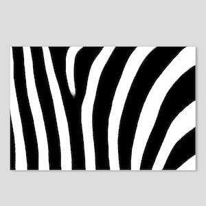 Zebra Print Postcards (Package of 8)