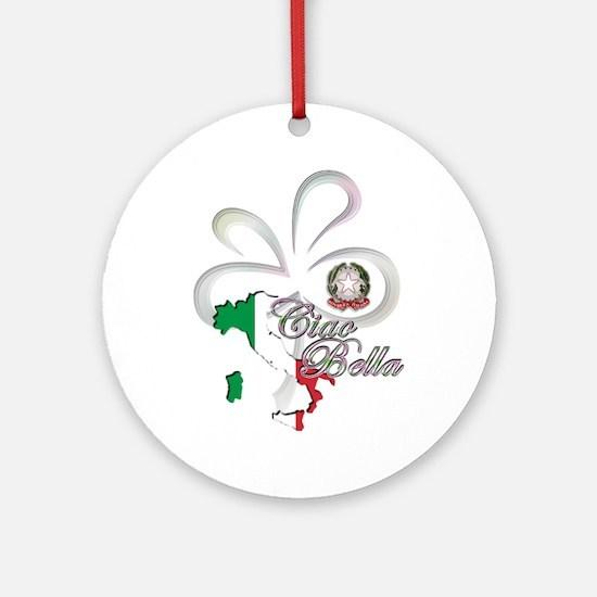 Ciao Bella Ornament (Round)
