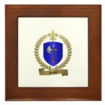 HACHEY Family Crest Framed Tile