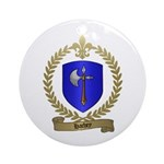 HACHEY Family Crest Ornament (Round)