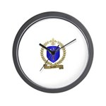 HACHEY Family Crest Wall Clock