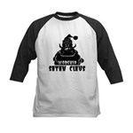 Worship Satan Claus Kids Baseball Jersey
