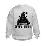 Worship Satan Claus Kids Sweatshirt