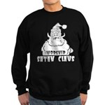 Worship Satan Claus Sweatshirt (dark)