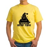Worship Satan Claus Yellow T-Shirt