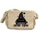 Worship Satan Claus Messenger Bag