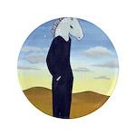 """Homo Equus 3.5"""" Button (100 pack)"""
