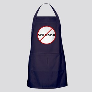 No More Speciesism Apron (dark)
