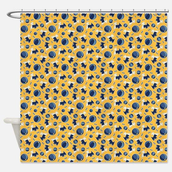 Scotty Dogs Shower Curtain