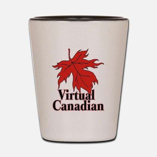 Virtual Canadian Shot Glass