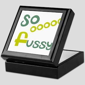 OYOOS So Fussy design Keepsake Box