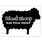 Black Sheep Are Still Sheep Small Poster