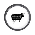 Black Sheep Are Still Sheep Wall Clock