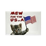 Fourth of July Rectangle Magnet (10 pack)