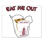 Eat Me Out Small Poster