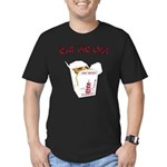 Eat Me Out Men's Fitted T-Shirt (dark)