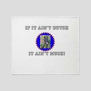 Dutch Sheperd Throw Blanket