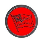 Flags Breed Hatred Wall Clock