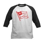 Flags Breed Hatred Kids Baseball Jersey