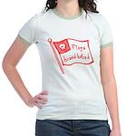 Flags Breed Hatred Jr. Ringer T-Shirt