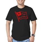 Flags Breed Hatred Men's Fitted T-Shirt (dark)