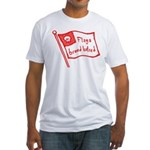 Flags Breed Hatred Fitted T-Shirt