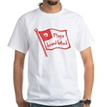 Flags Breed Hatred White T-Shirt