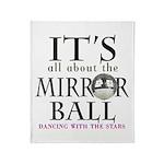 DWTS Mirror Ball Throw Blanket