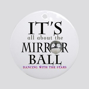 DWTS Mirror Ball Ornament (Round)