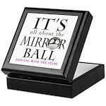 DWTS Mirror Ball Keepsake Box