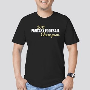 2011 Fantasy Football Champion Men's Fitted T-Shir