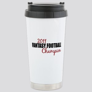 2011 Fantasy Football Champion Stainless Steel Tra