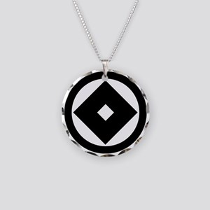 maru ni kuginuki Necklace Circle Charm