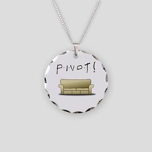 Friends Ross Pivot! Necklace Circle Charm