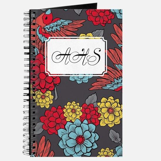 Bird Romantic Grey Journal