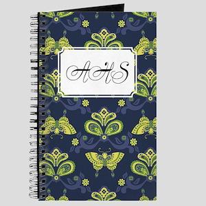 Butterfly Asian Blue Journal