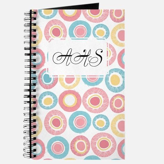 Dot Pattern Pink Journal