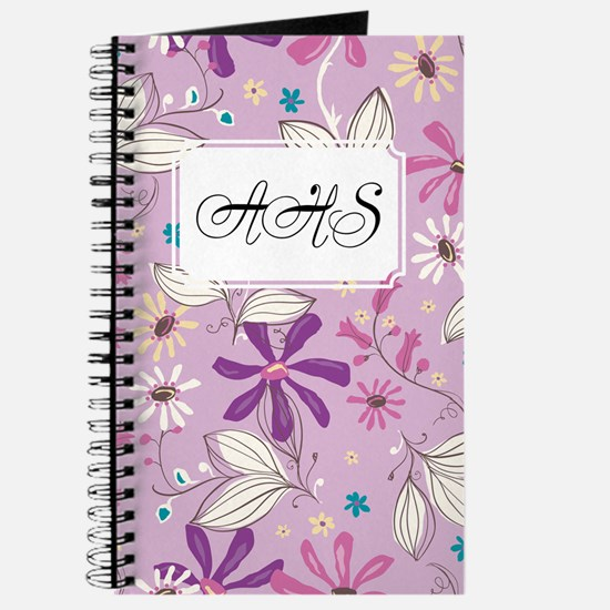 Flower Botanical Lilac Journal