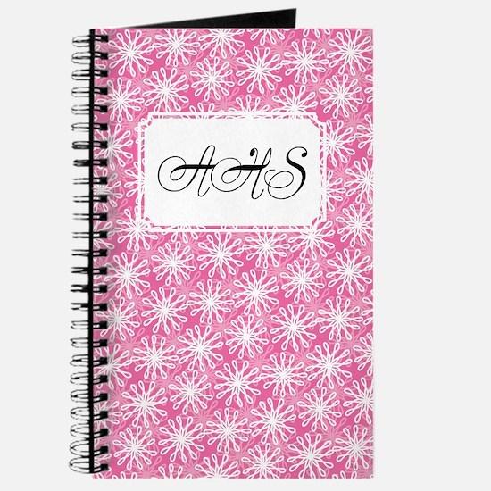 Flower Loop Pink Journal