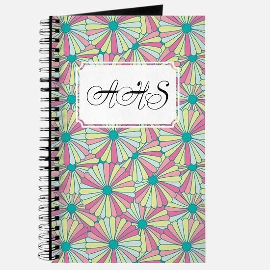 Flower Rainbow Pink Journal