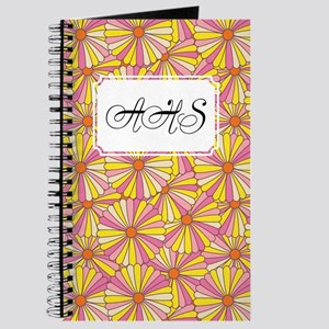 Flower Rainbow Yellow Journal