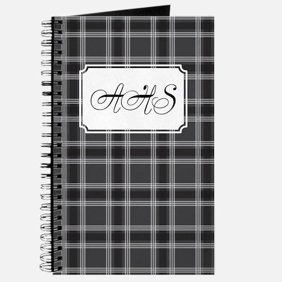 Plaid Classic Black Journal