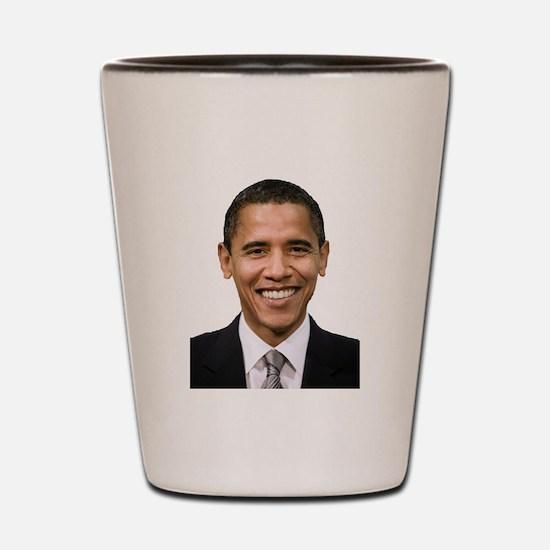 Obama Shot Glass