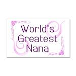 World's Greatest Nana Car Magnet 20 x 12