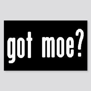 got moe? Rectangular Sticker