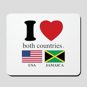 USA-JAMAICA Mousepad