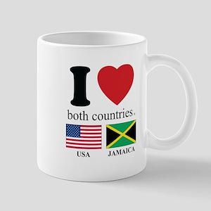USA-JAMAICA Mug